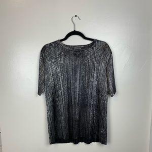 Metallic T-shirt - Urban Outfiters